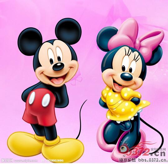米奇米妮简笔画大全卡通简笔画美女米老鼠米妮